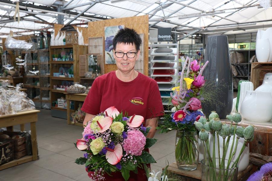 Frische Blumensträuße Klemke Werl